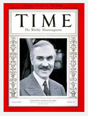 Joseph C. Grew, Cover of Time Magazine