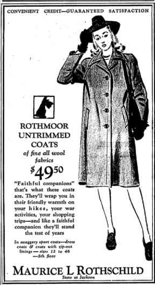 .. a cloth coat.