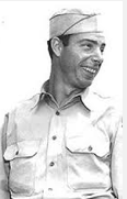 Joe DiMaggio reached the rank of sargeant.