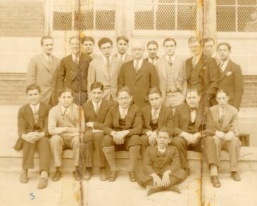 New Utrecht High Biology Squad 1927