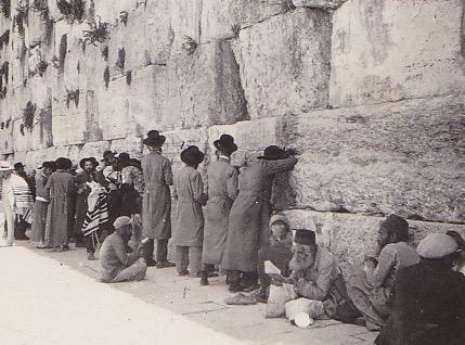 1935 Wailing Wall
