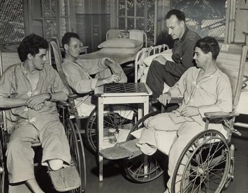 1944 WR Hosp wounded