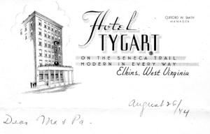 1944_08_Hotel Tygart_Aug 26